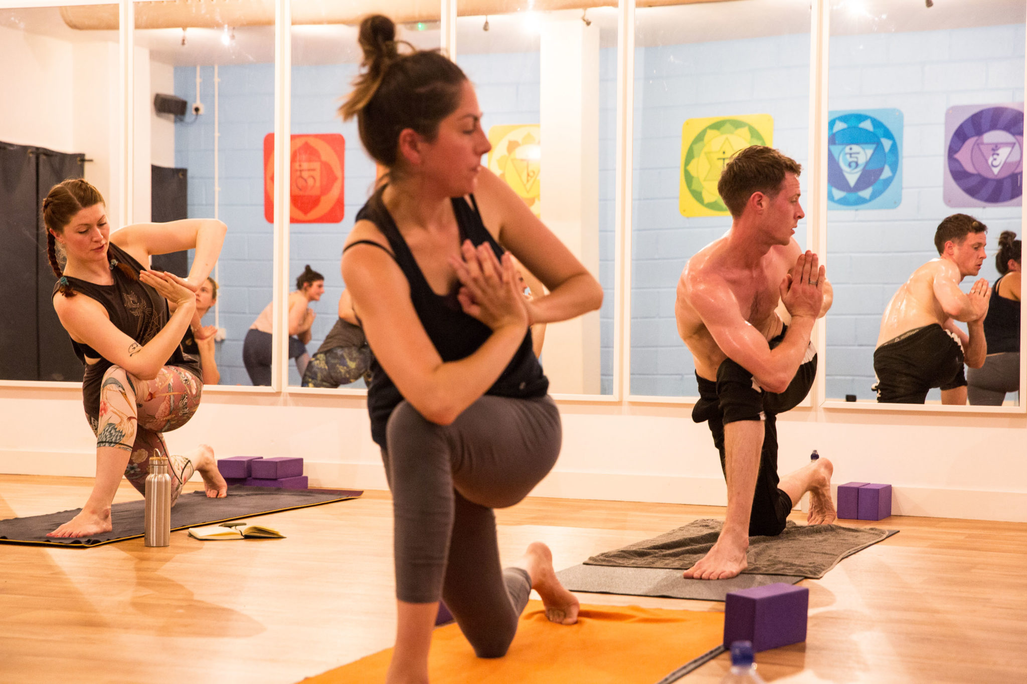 Yoga, Twisting Postures and Ownership