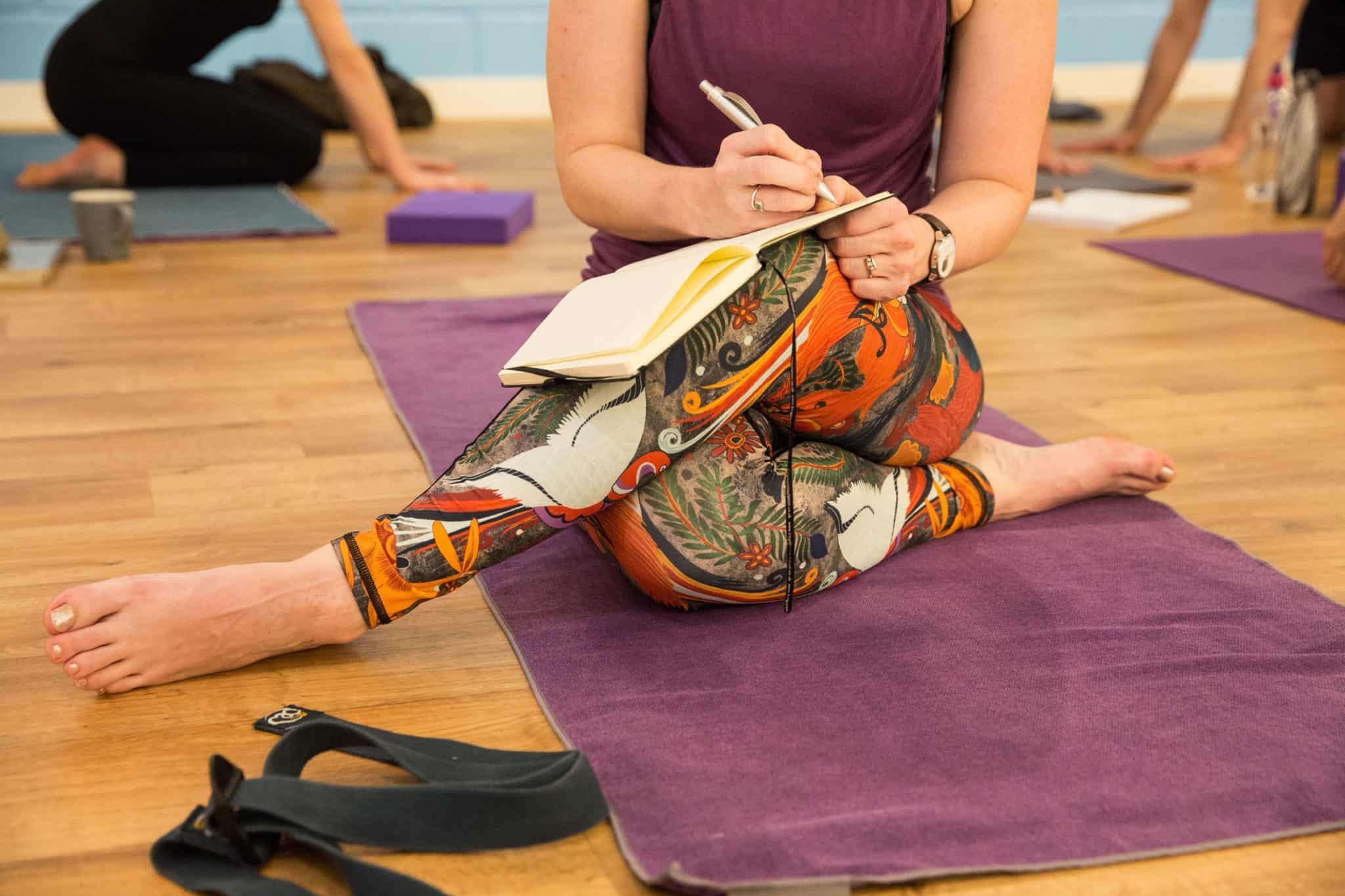 Siân's Yoga Teacher Training Journey