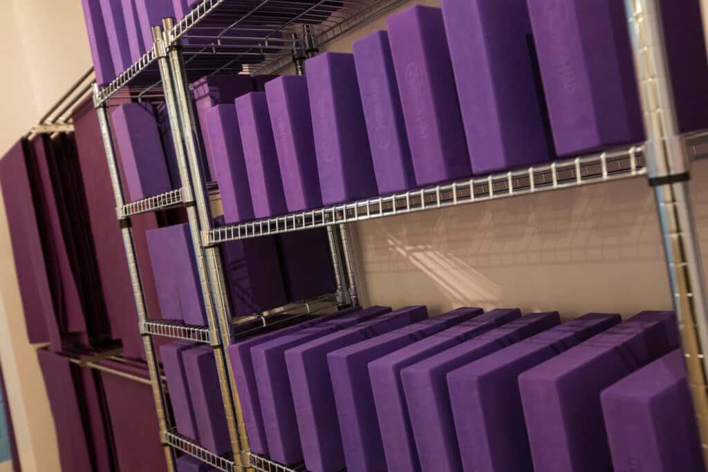 yogafurie yogamad equipment blocks bricks props purple