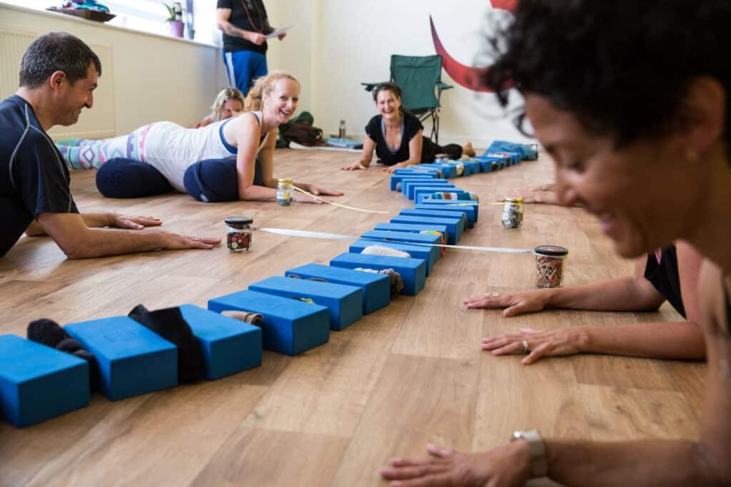 different uses for bricks bolsters teacher training