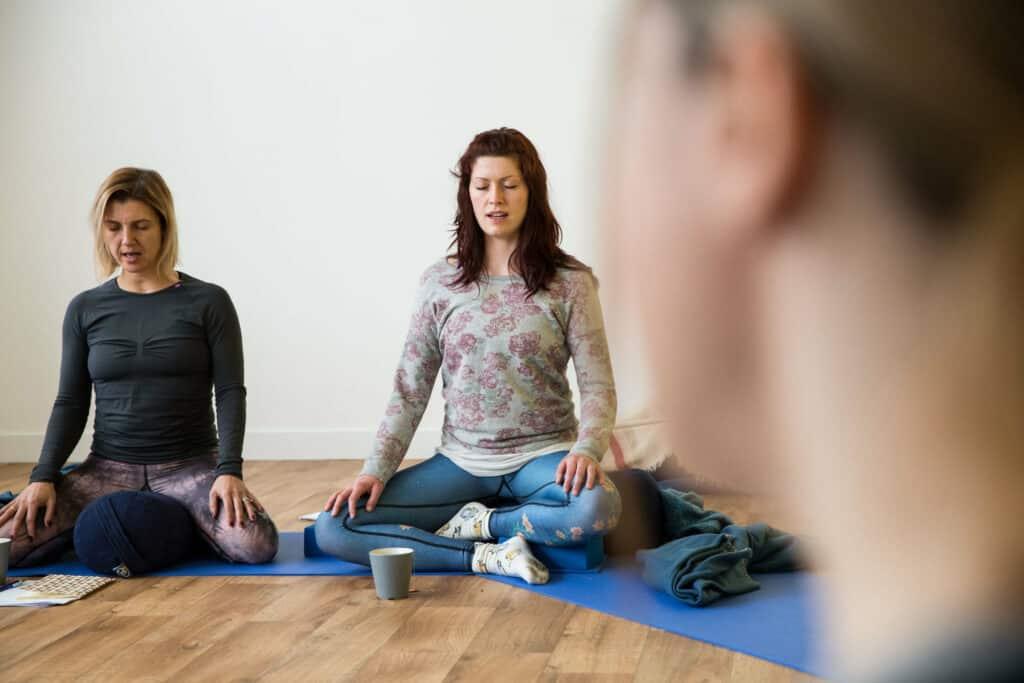 teacher training chanting meditation relaxation