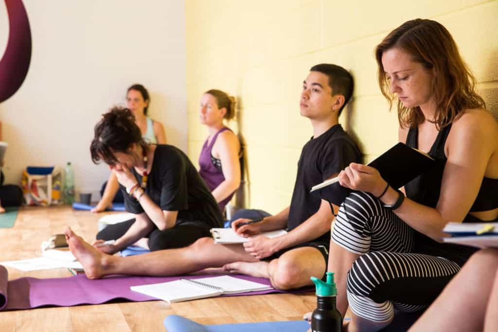 Yogafurie teacher trainees