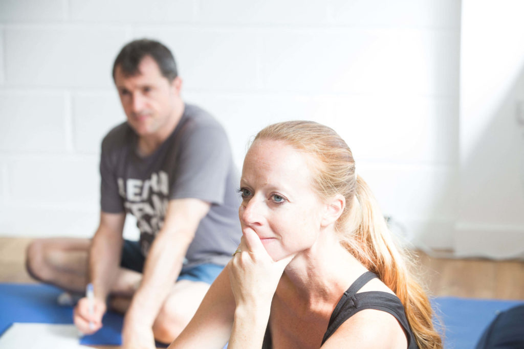 Mentor Kate H on her teacher training course with Yogafurie