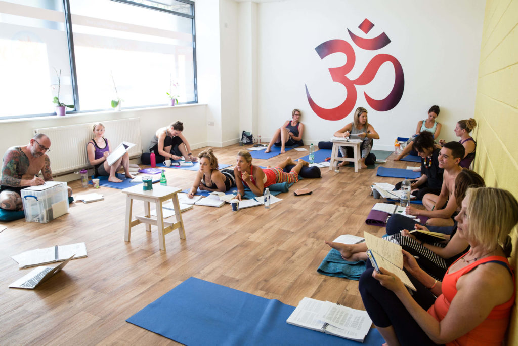 An example cohort from a Yogafurie Teacher Training