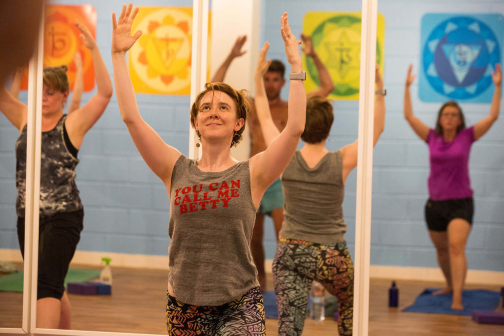 Yogafurie Teacher Kate S who teaches part time around other work