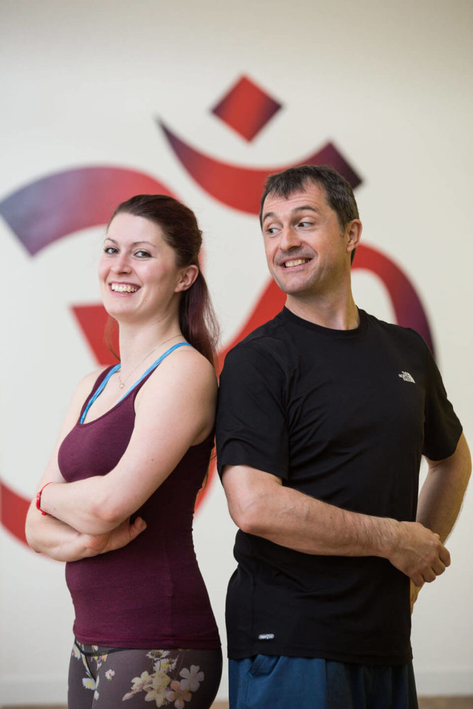 Yogafurie father and daughter team Ed and Sinead