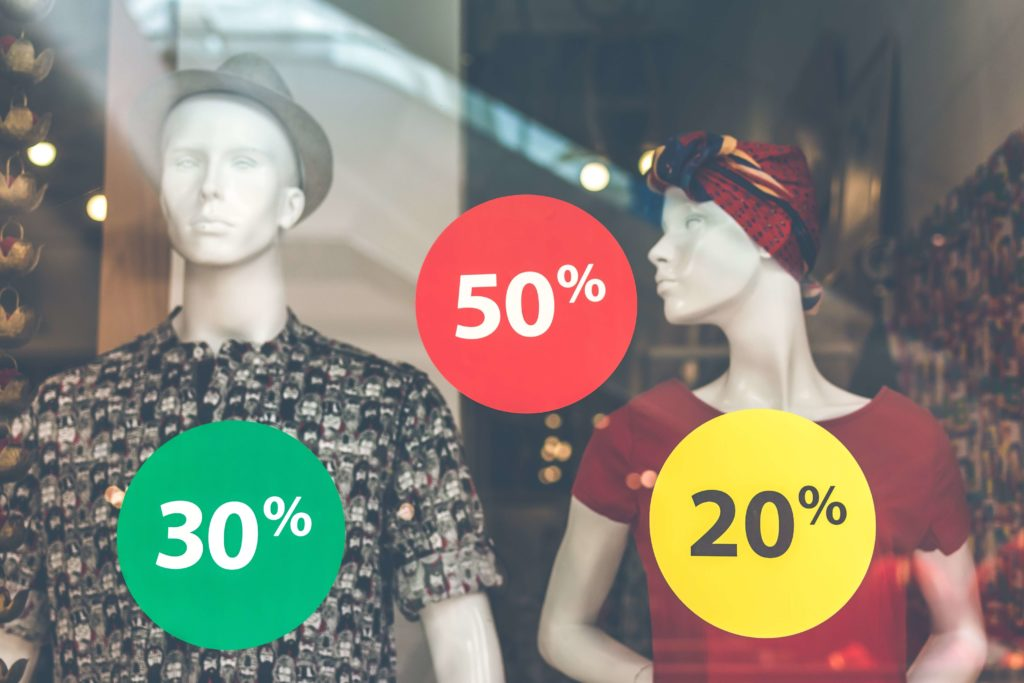 Allowing for short term sales and discounts like the fashion industry