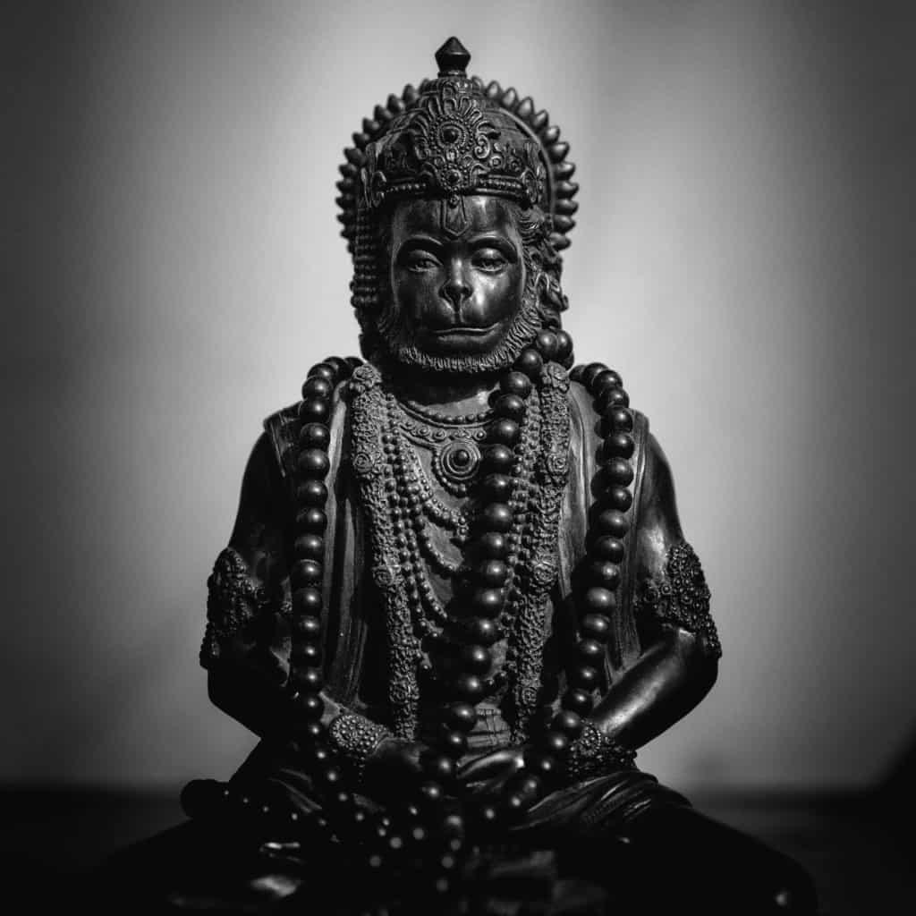 Statue of Hanuman deity