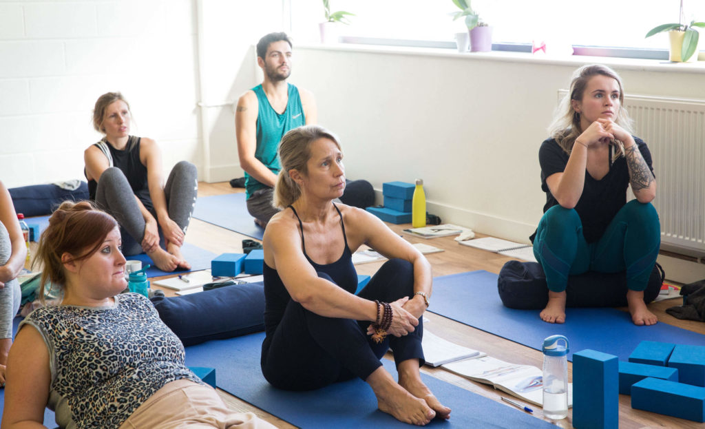 Yogafurie Academy Students Learn and Practice the Philosophical Aspect to Yoga