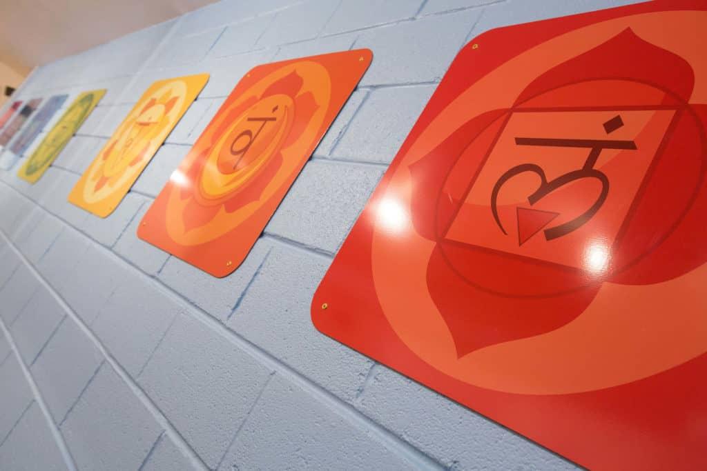 Studio Wall Plaques - chakras.