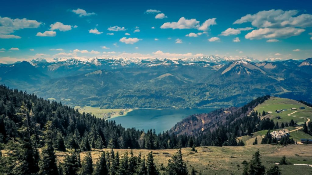 View of Mountains and Lakes. Photo by Paul Gilmore on Unsplash