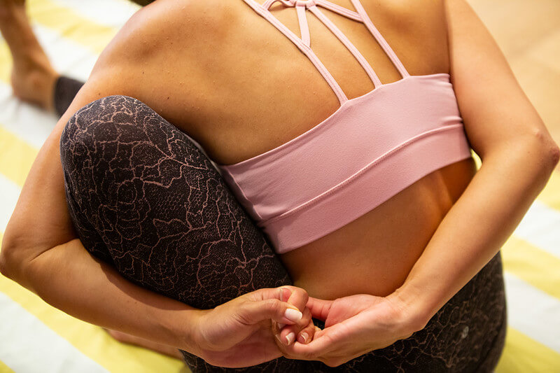 Yoga relieves anxiety and depression.