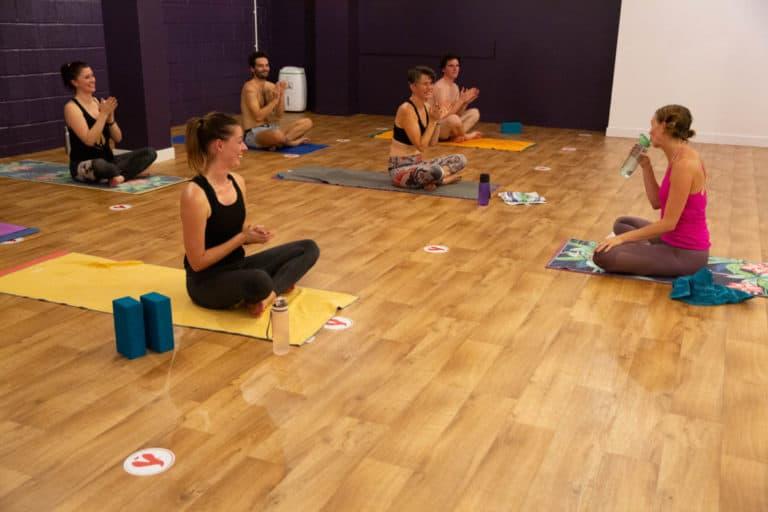 yoga teacher training assessment class bristol