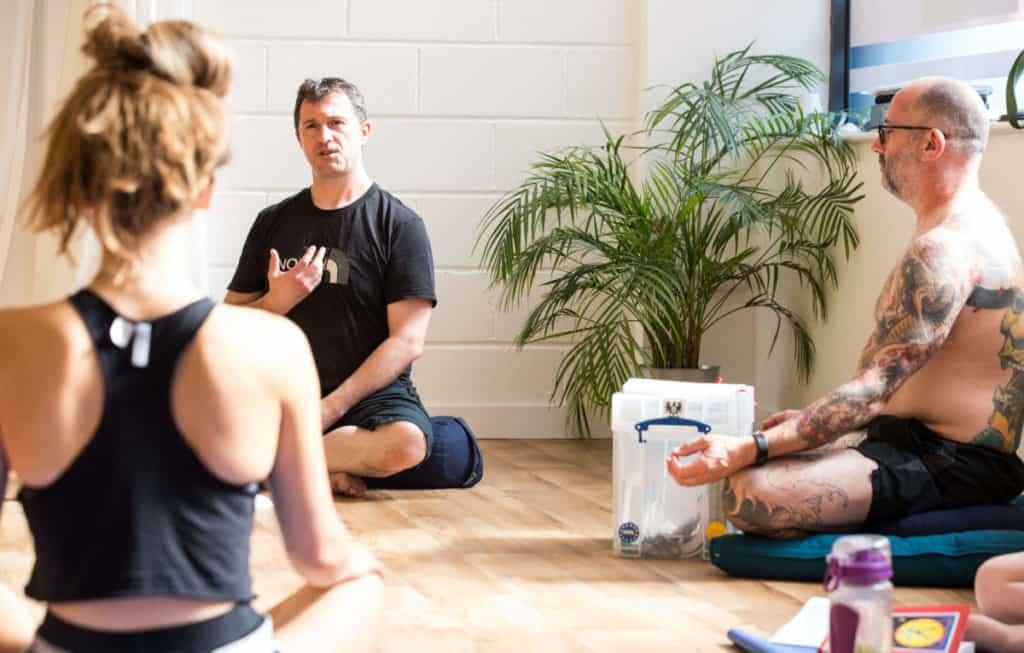 James' jourey of self-discovery through hot yoga