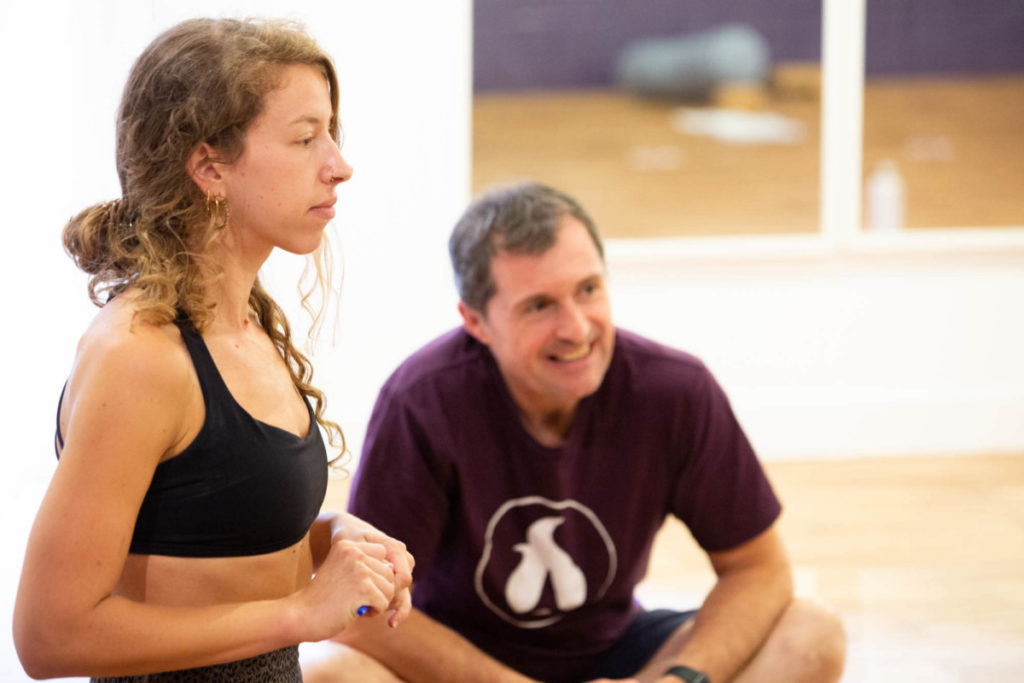 instructor and student, the concept of karma, love drives evolution