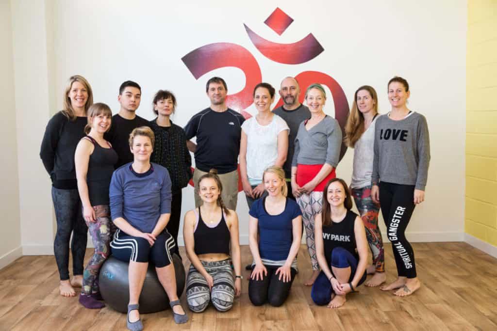 yoga teaher training group, builiding friendships through teacher training