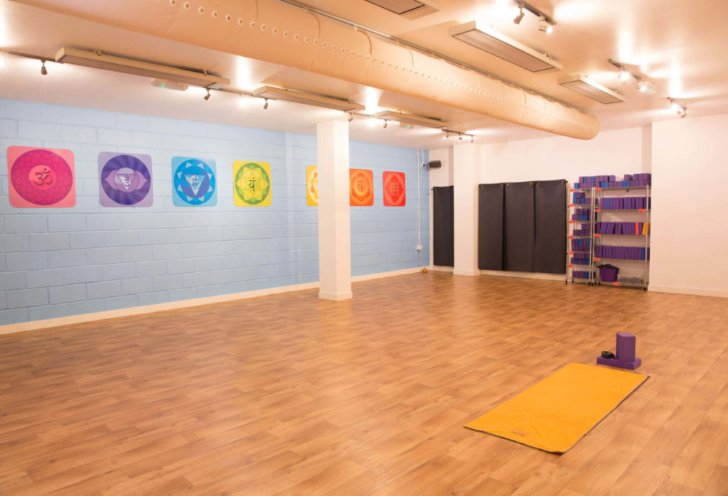 studio at yogafurie in brisol, high cleaning standards to keep staff and clients safe