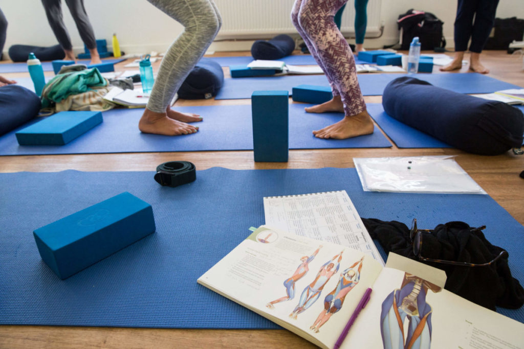 a snapshot into the deep dive you can take with yoga teacher training in bristol