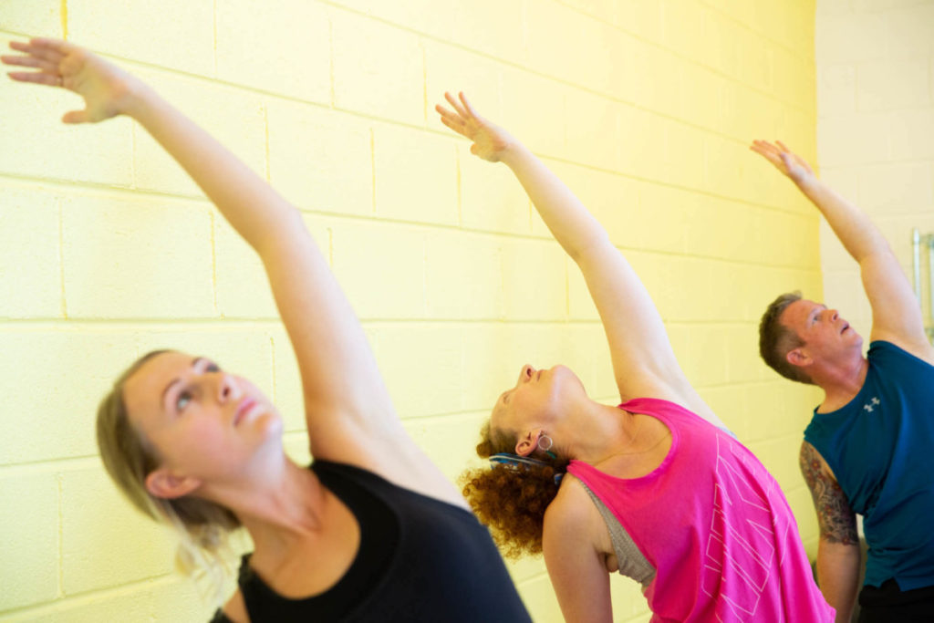 yoga teacher training course, low pressure and access to hot yoga studio, family feel to yogafurie