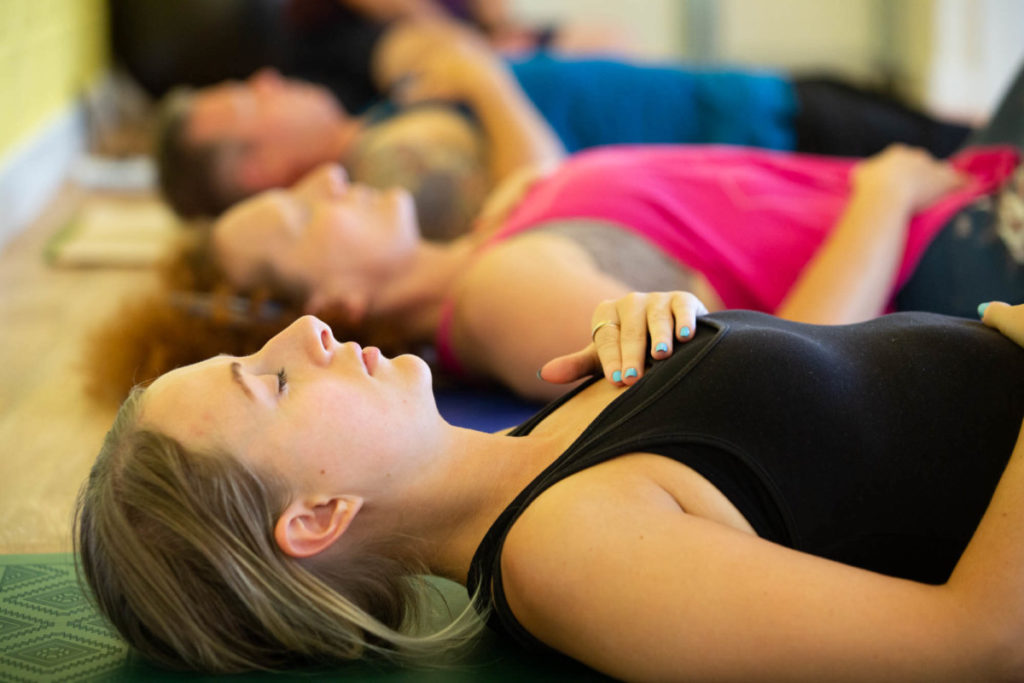 relaxation practices in yoga in bristol