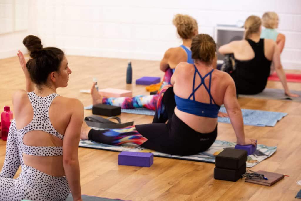 Students Studying Yoga Teacher Training in Bristol